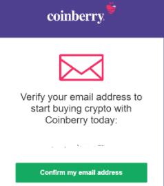 Coinberry verify