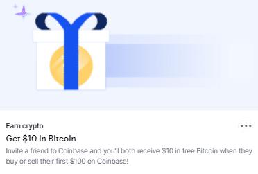 coinbase refer