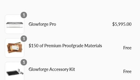 glowforge free
