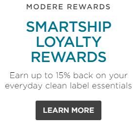 modere loyalty program