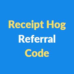 Receipt Hog Referral Codes